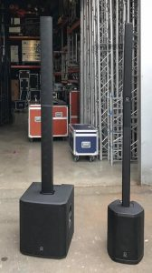 IP500-IP2000 enceintes TURBOSOUND MX Evenement