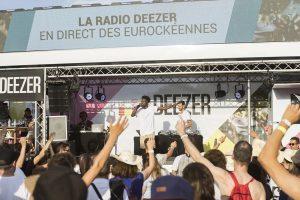 Char Deezer MX evenement Vielles Charrues